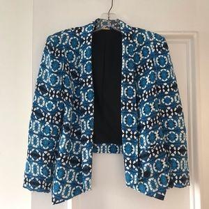 Rebecca Minkoff Blue batik blazer